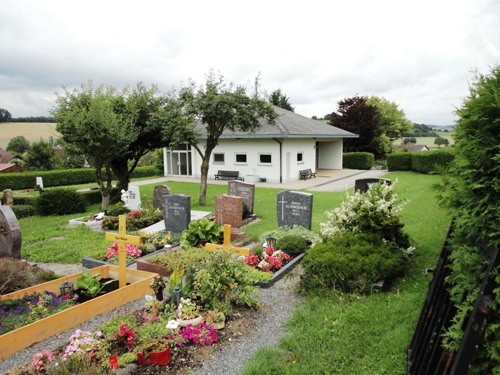 Friedhofe Gemeinde Helmstadt Bargen